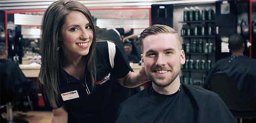 Sport Clips Haircuts of Blakeney​ stylist hair cut